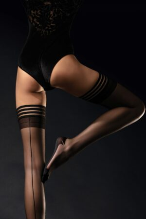 Fiore femme fatale tights fully fashioned