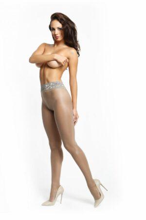 MissO P105 Shiny Open Crotch Pantyhose