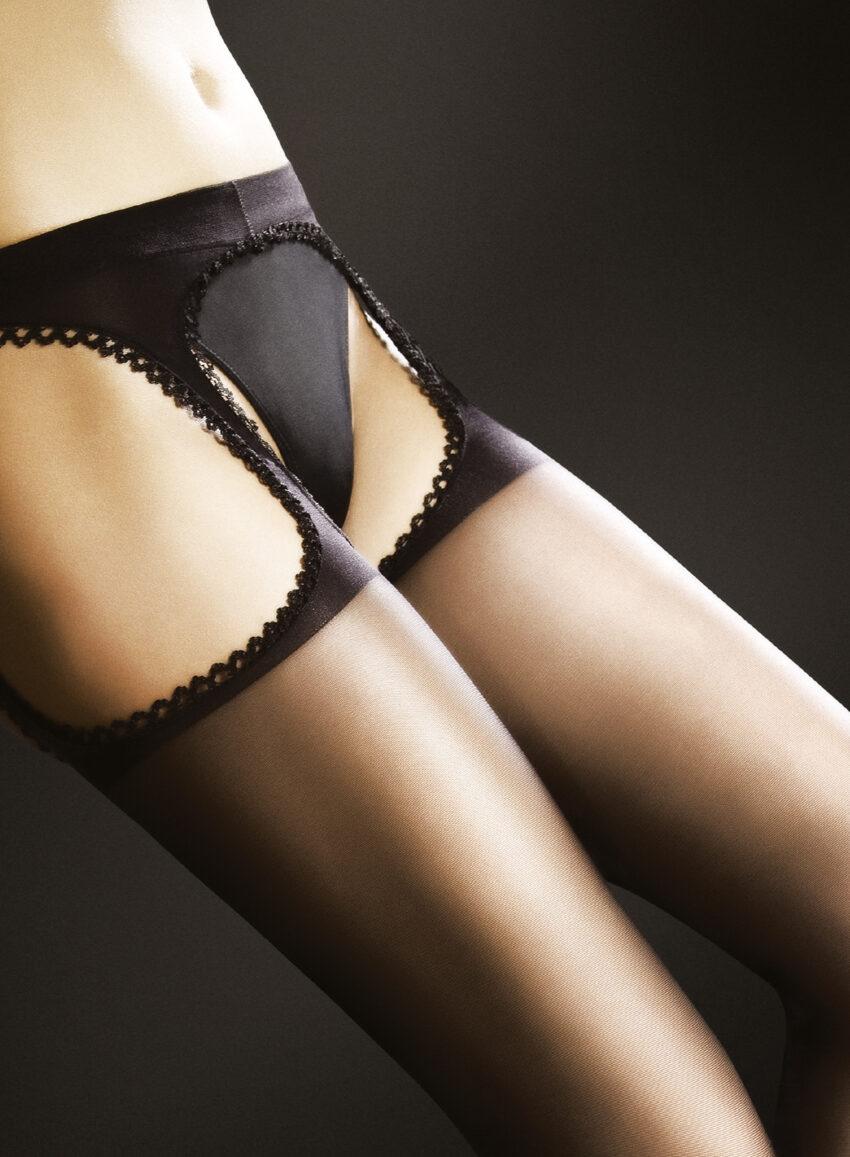 FiORE AMOUR suspender tights classic