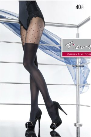 Diuna FiORE hold ups imitation tights