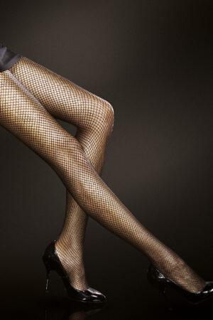 Greta FiORE fishnet tights