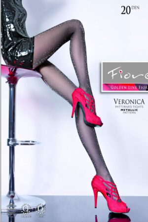 veronica fiore sparkling tights pantyhose