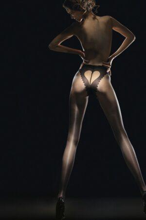 Corazon FiORE tights heart pattern butt