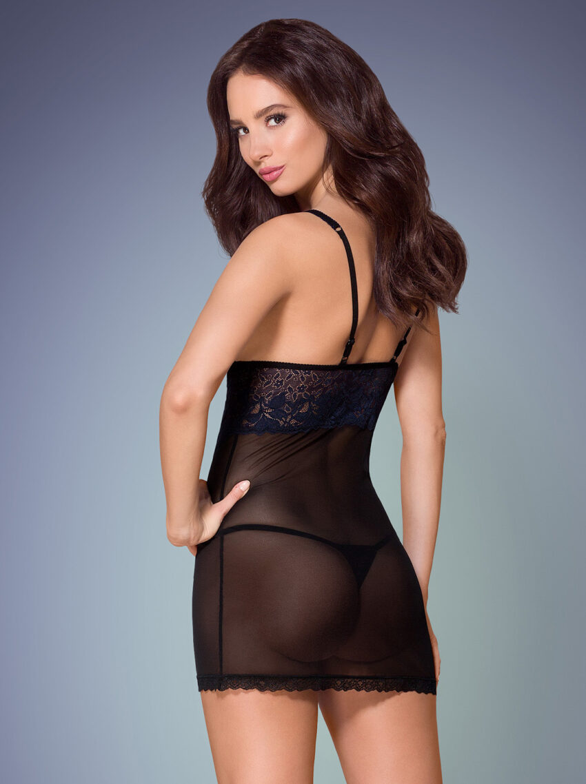 Obsessive 866 chemise and thong