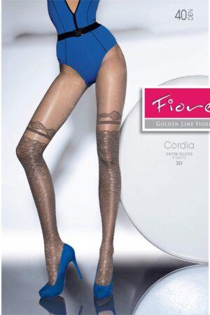 Cordia satin gloss FiORE hold ups imitation