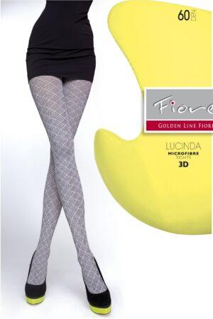 Lucinda FiORE 3D patterns microfibre tights