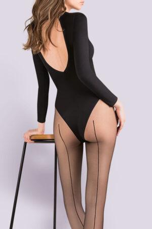 Gabriella Linette seamed Pantyhose