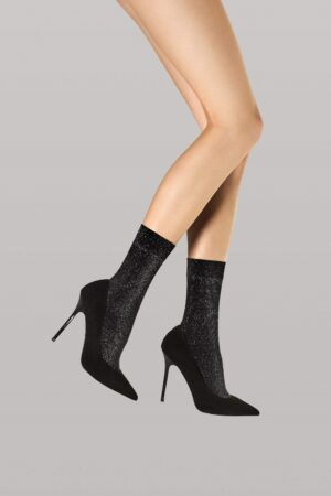 Fiore Dreamer Socks Black Meta