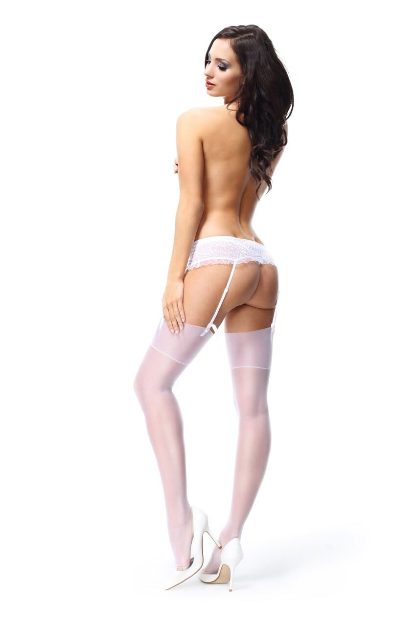 Misso S301 White Stockings