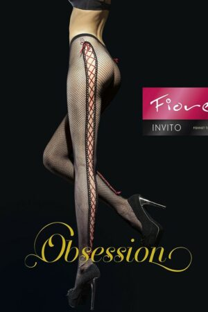 Fiore Invito Fishnet Tights