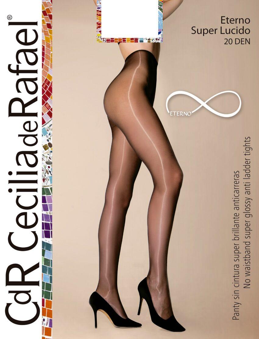 Cecilia De Rafael Eterno Superlucido 20 Glossy Pantyhose